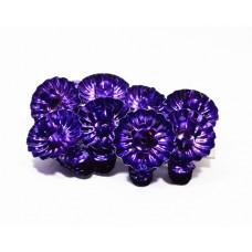Svícny klipsy fialové 8ks