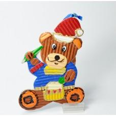 Ozdoba medvěd s bubínkem