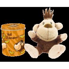 Miniplechovička s přívěskem Opička