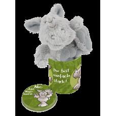 Miniplechovička s přívěskem Nosorožec