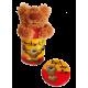 Miniplechovička s přívěskem Medvídek