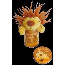 Miniplechovička s přívěskem Lvíček