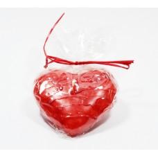 Svíčka červené srdce plovoucí